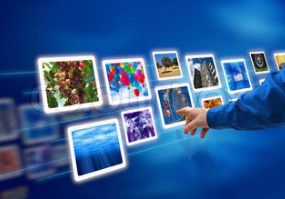 blå billeder hånd